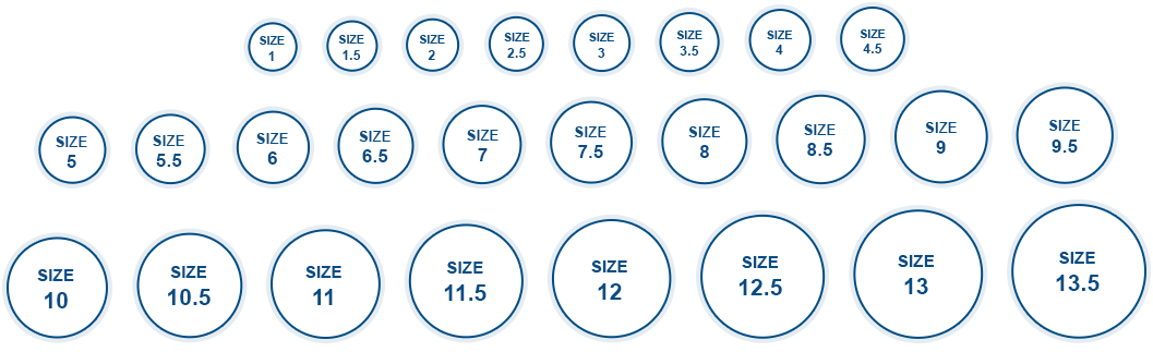 Ring Sizer Online - Ring Size Chart, how to measure ring size