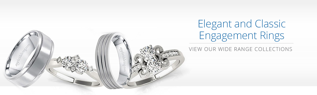 Elegant and Classic Engagement Rings