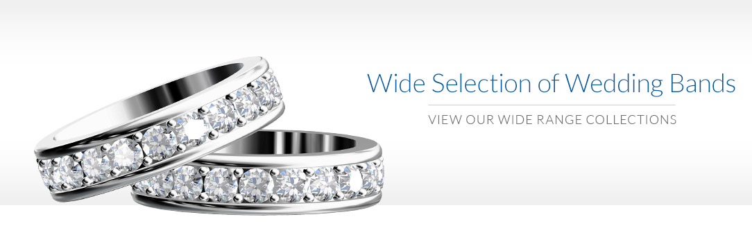 Wide selection of Wedding Bands