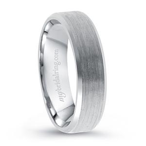 Classic Brush Finish Wedding Band
