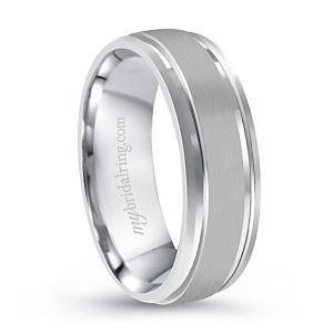 Polished Edge Comfort Fit Wedding Band